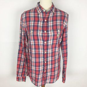 🌷DENIM & SUPPLY Plaid Flannel Button Down Shirt